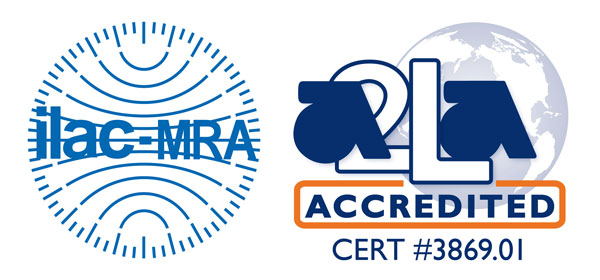 NSI-MI A2LA accredited