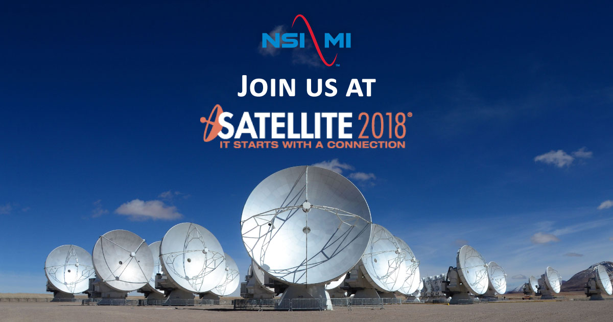 Join us at Satellite 2018