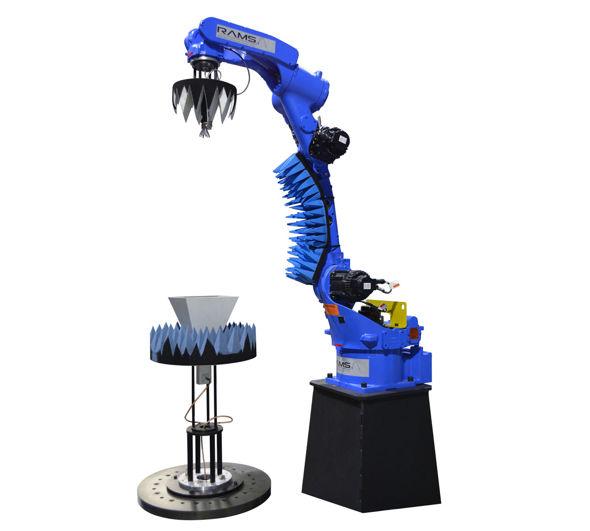 8-Axis Robotic Antenna Measurement System